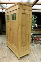 Fabulous Old Pine Knock Down 'arts & Crafts' Double Wardrobe  - We Deliver & Assemble! (6 of 16)