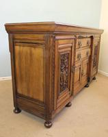 Antique Late 19th Century Oak Sideboard Dresser Base. (3 of 14)