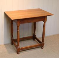 Light Oak Side Table (3 of 8)