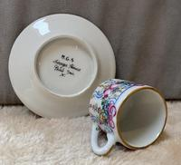 Limoges Hand Painted Miniature Cup and Saucer (4 of 6)