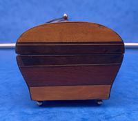 French Mahogany Glove Box with Boxwood, Ebony & Fruitwood Stripes (7 of 12)