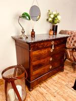 French Antique Drawers / Louis Philippe Commode / Mahogany Chest of Drawers (6 of 7)