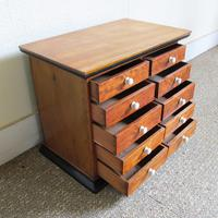 Satinwood & Walnut Victorian Collectors Chest (4 of 6)