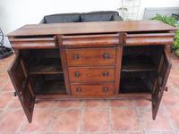 Rustic Pine Dresser Base 6 Drawer 1800 (3 of 10)