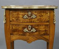 Fine Pair of Ormolu & Parquetry Side Tables (4 of 6)