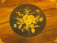 Marquetry Inlaid Walnut Wine Table (10 of 10)