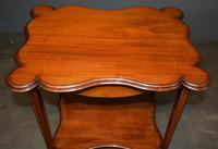 Mahogany Inlaid Occasional Table (2 of 4)