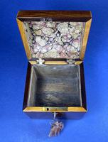 George III Partridge Wood Tea Caddy (10 of 12)