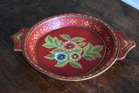 Large Scandinavian Painted Wooden Bowl (2 of 10)