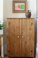 Tall Antique Pine Pantry Cupboard (2 of 15)