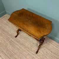 Victorian Rosewood Antique Writing Table (7 of 7)