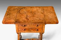 Regency Period Amboyna Work Table (3 of 8)