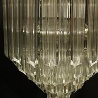 Italian Venini Crystal Triple Light Chandelier (5 of 10)