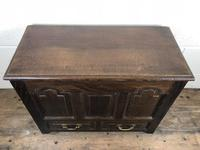 19th Century Welsh Oak Coffer Bach (M-550) (3 of 9)