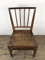 Pair of 19th Century Welsh Oak Farmhouse Chairs (5 of 10)