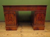 Reproduction Antique Pedestal Desk by Brights of Nettlebed (13 of 16)