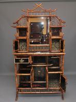 Impressive 19th Century Bamboo Cabinet (20 of 25)