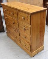 1960's Country Pine Merchants Chest Drawers (4 of 5)