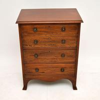 Antique  Georgian Mahogany Chest of Drawers (2 of 10)