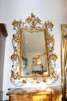 Large Antique Italian Giltwood Mirror (2 of 5)