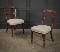 Pair of William IV Rosewood Chairs (2 of 13)