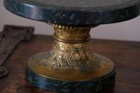 Pair of Early 20th Century Faux Marble & Brass Stands (7 of 15)
