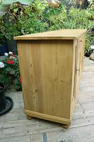 Big! Old 2m Pine Dresser Base / Sideboard / Cupboard / TV Stand - We Deliver! (4 of 13)