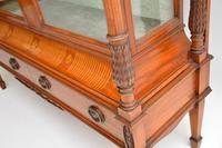 Antique Victorian  Satinwood  Display Cabinet (7 of 13)