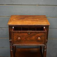 Beautiful 19th Century Campaign Writing Desk (4 of 8)