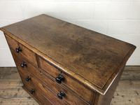 19th Century Antique Oak Chest of Drawers (5 of 13)