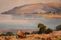 """Oil painting by Alec Caruthers Gould """"Porlock"""""""" (9 of 11)"""