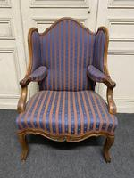 Comfortable French Wing Armchair (2 of 15)