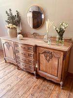 French Antique Sideboard / Louis XV Style Sideboard / Antique Oak Buffet (2 of 9)