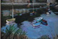 Boats on the river by Prue Sapp (5 of 7)