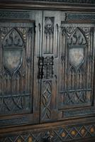 Gothic Revival Oak Cupboard (4 of 12)