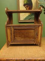 Small Rustic Wall Cabinet, Small Bathroom Cabinet (11 of 13)