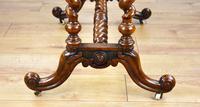 19th Century Victorian Burr Walnut Centre Table (9 of 10)