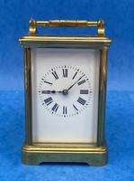 Victorian 8 Day  Brass Carriage Clock (4 of 13)