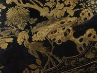 Chinese Gilded & Black Lacquered Desk (5 of 20)