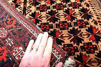 Antique Baluch Prayer Rug (2 of 4)