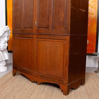 Oak Wardrobe Arts & Crafts Victorian 19th Century (4 of 9)