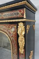 Pair of Victorian English Boulle Side Cabinets (4 of 11)
