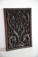 Carved Wood Ornamental Plaque (5 of 11)