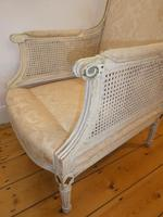 Pair of 19th Century Bergere / Cane Arnchairs (4 of 6)