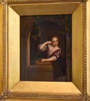 Pair of Oil Paintings after Gerrit Dou (4 of 9)