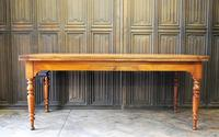 Large Extending Cherrywood Farmhouse Table (11 of 12)