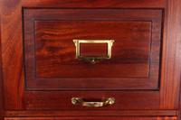 4 Drawer Mahogany 20th Century Filing Cabinet (2 of 7)