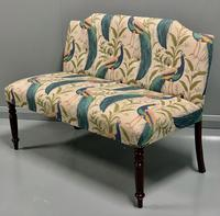 Newly Upholstered Window Seat & Stool (5 of 6)