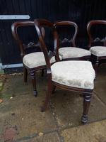 Set of 6 Balloon Back Dining Chairs (5 of 5)