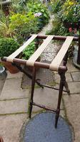 Early 19th Century Mahogany Butlers Tray with Stand (7 of 7)